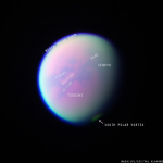 Titan as seen through three different filters: August 20, 2013 by Val Klavans, on Flickr